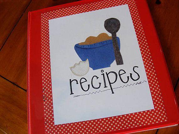 Recipe binder printable! I love it!: Gifts Ideas, 3 Rings Binder, Recipe Binders, Diy Recipes, Cookbook Ideas, Recipes Books, Favorite Recipes, Recipes Binder, Paleo Recipes