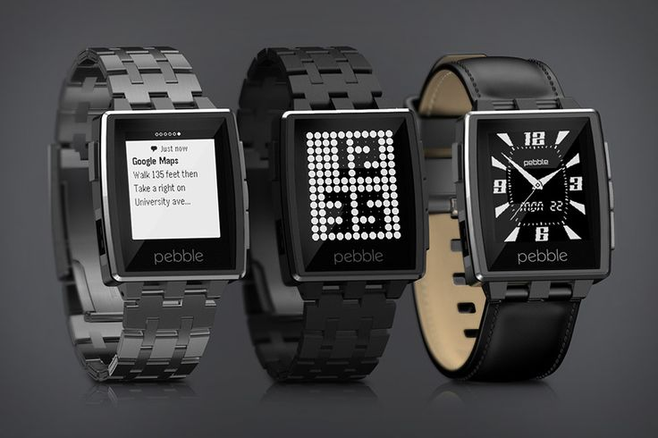 Pebble Steel  I find this much classier than the original. This is on my 2014 Wish List.