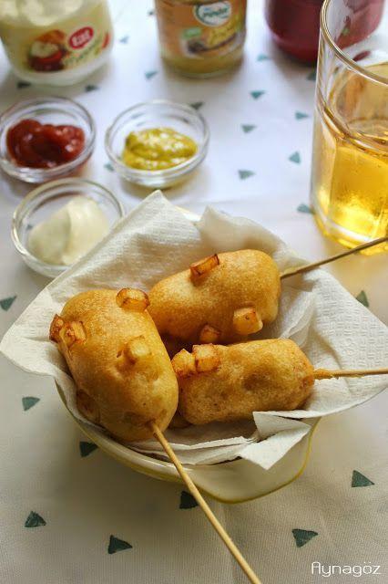 AynaGöz.: Sokak Yemekleri: Kore Sokak Stili Patatesli Hot Do...