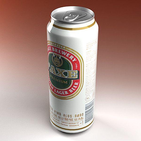 Faxe Beer 3D Model - 3D Model