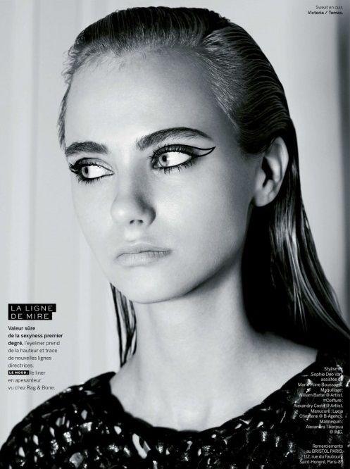 Eyeliner   Delineador   Makeup   Make up   Maquiagem   http://cademeuchapeu.com