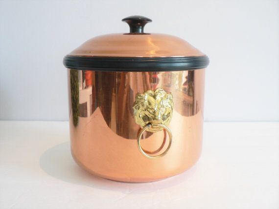 Coppercraft Guild Copper Ice Bucket Copperware by myTreasureNook