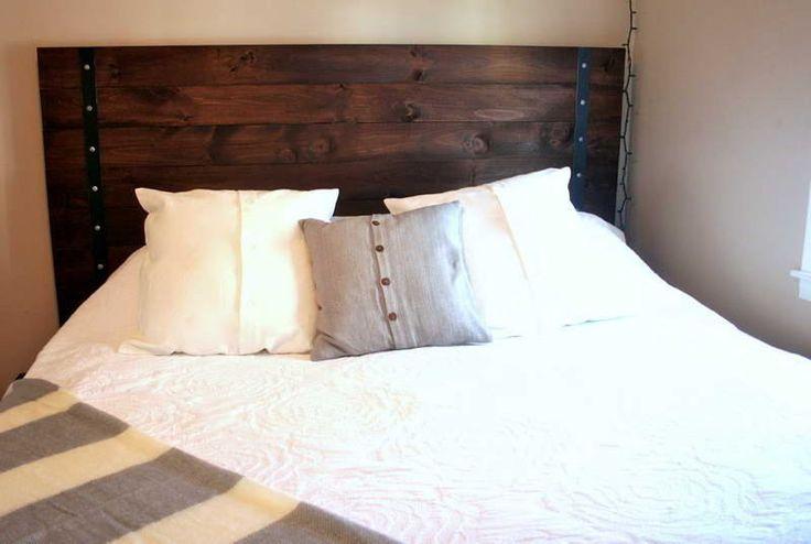 Möbelprojekte, Wohnmöbel, Schlafzimmermöbel, Schlafzimmerdeko,  Hausprojekte, Schlafzimmer Ideen, Selbstgemachte Kopfteile, Hölzernes  Kopfbrett, ...