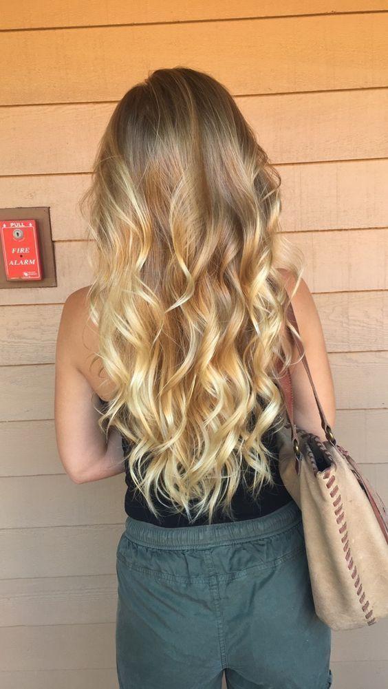 21+ Fashionable Golden Blonde Hair Coloration Concepts