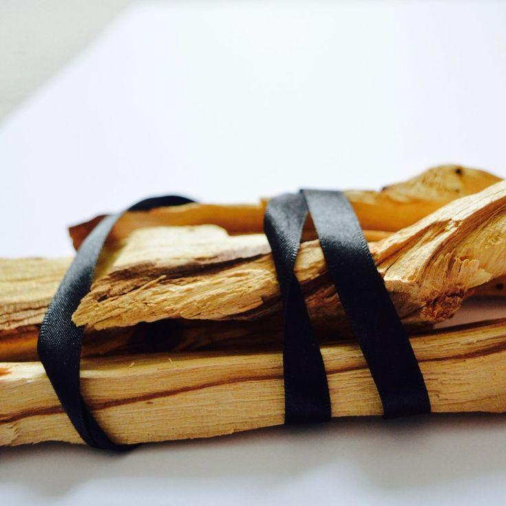 Palo santo incense sticks with images palo santo