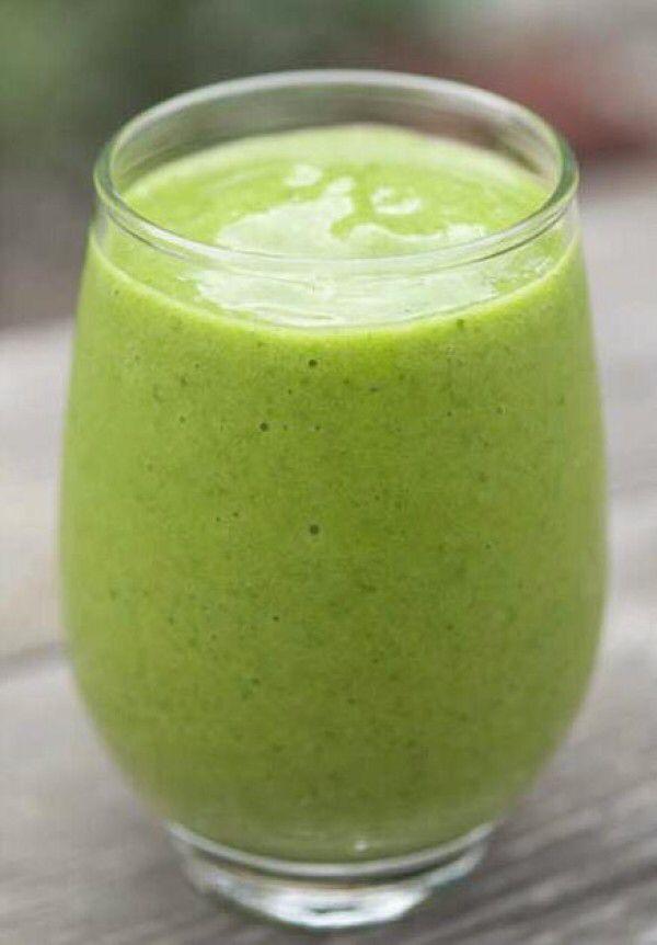 My favorite Spinach Shake!!