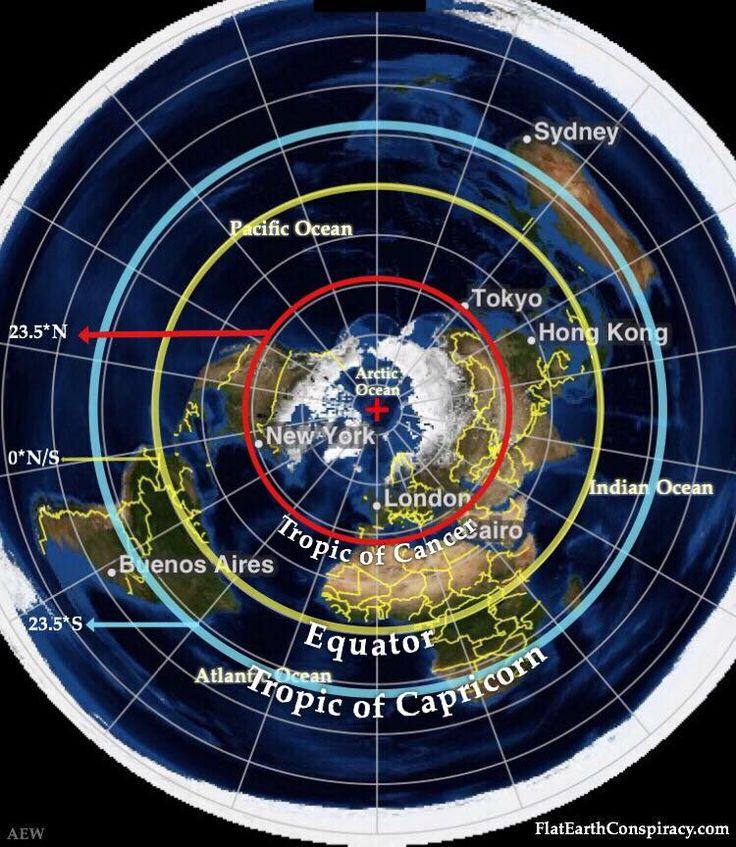 flat earth map - Google zoeken