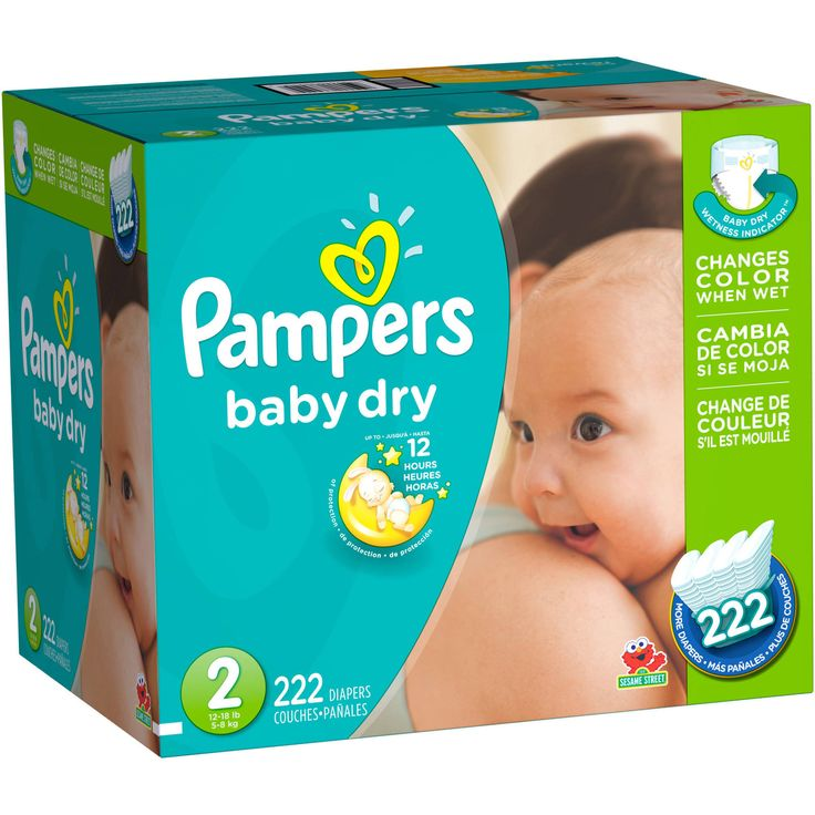 Overnight protection for happy mornings Up to 12 hours of overnight protection! With Pampers Baby Dry diapers, your baby can get up to 12 hours of overnight protection, which helps him get the uninter