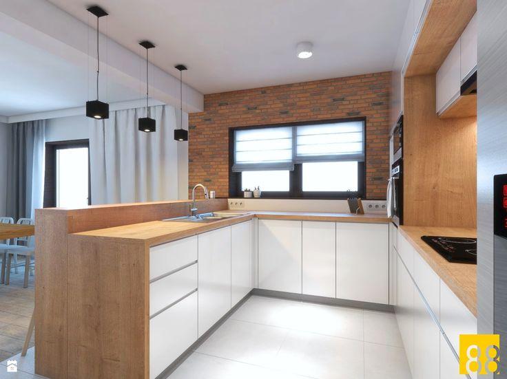 Kuchnia 004 - zdjęcie od Pracownia 88 | Autorska Pracownia Architektoniczna - Kuchnia - Styl Nowoczesny - Pracownia 88 | Autorska Pracownia Architektoniczna