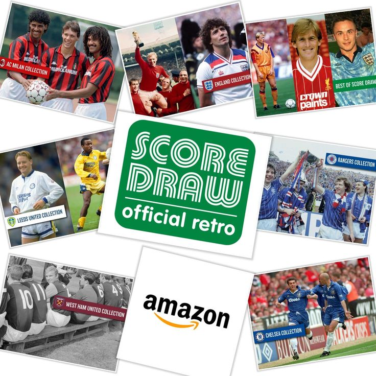 Find Great Retro Football Shirts at Score Draw Official Retro Amazon Store amzn.to/2rIWDof