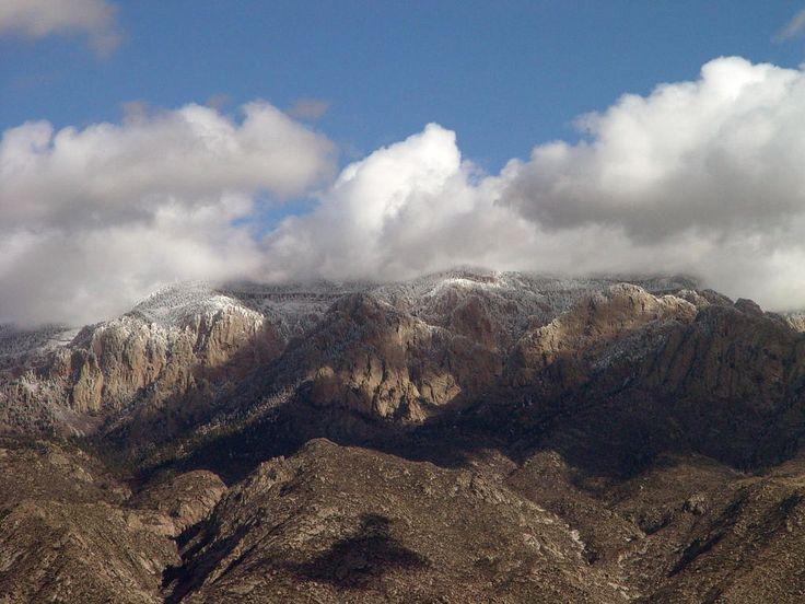 albequerqe nm | Albuquerque, NM : SANDIA MOUNTAINS WINTER ...