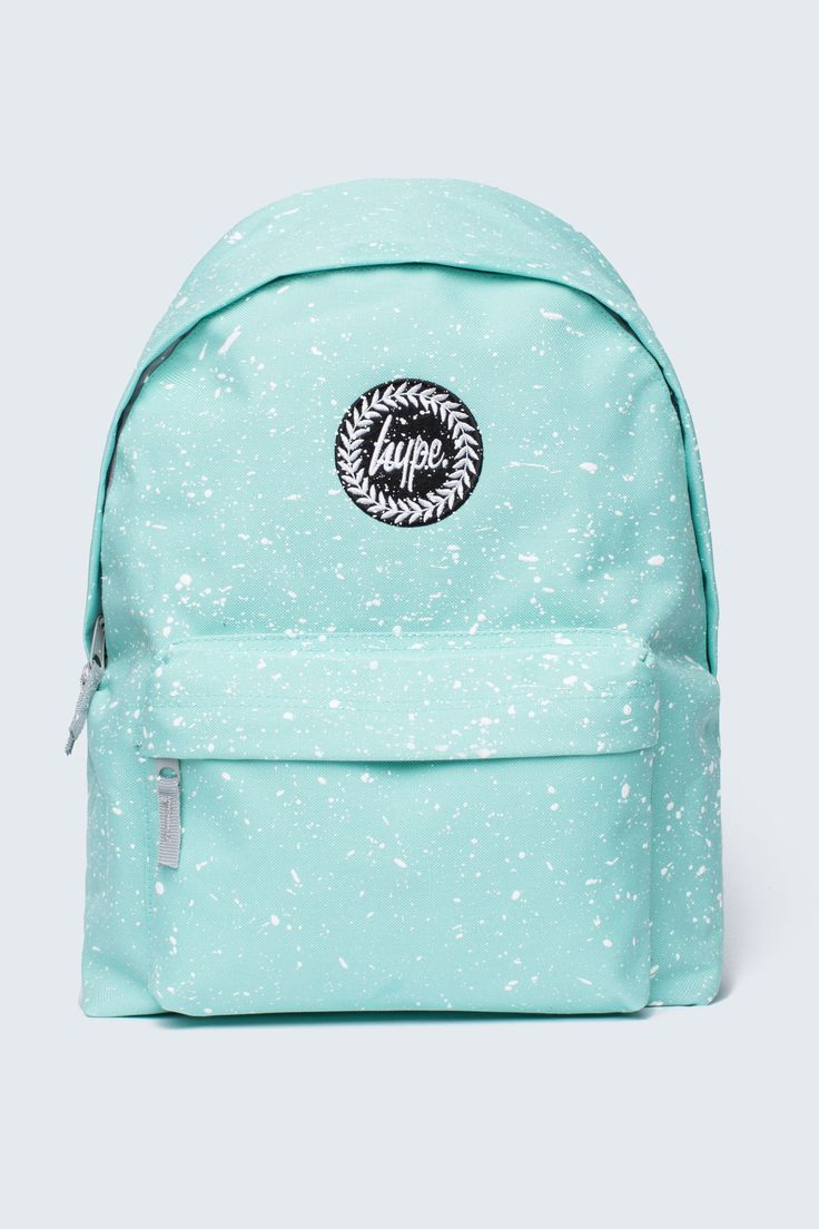 HYPE MINT WITH WHITE SPECKLE BACKPACK - Bags - HYPE®
