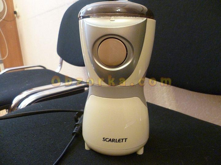 Кофемолка Scarlett долгожитель на моей кухне
