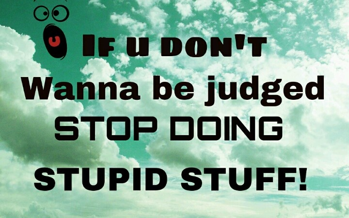 how to stop being an idiot