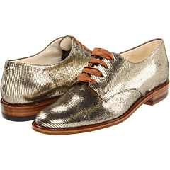 Robert Clergerie Gold Liam 581 Oxfords. $575.00. Why must I have such expensive taste?