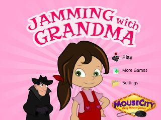 Zoxy3 Games for Girls: Jamming with Grandma