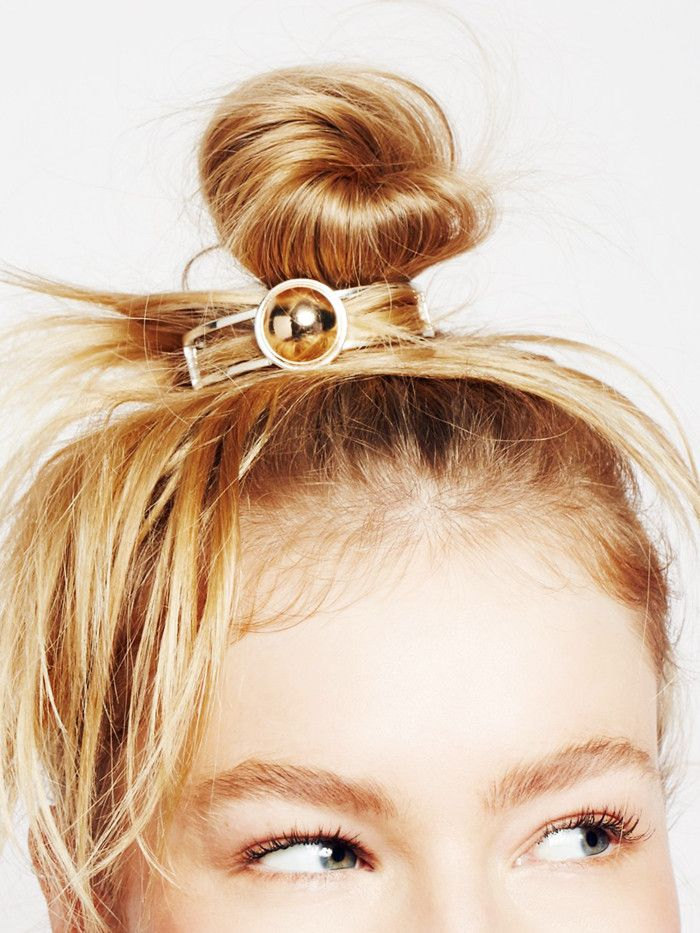 9 Easy Bun Hairstyles for When You Want to Be Sofa Chic via @ByrdieBeautyUK