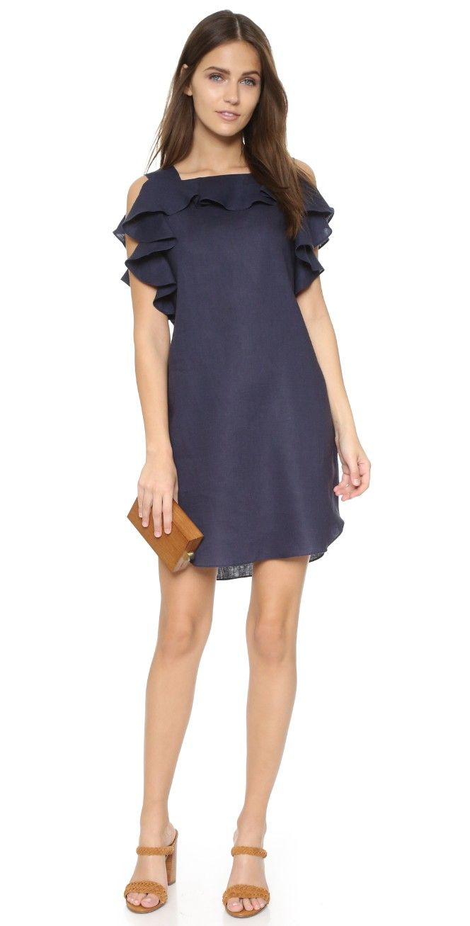 Amanda Uprichard Claudette Dress | 15% off first app purchase with code: 15FORYOU