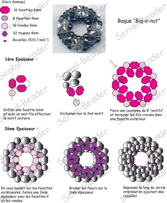 Schémas De Colliers En Perles Gratuits : Les meilleures images ? propos de tutoriels bijoux sur