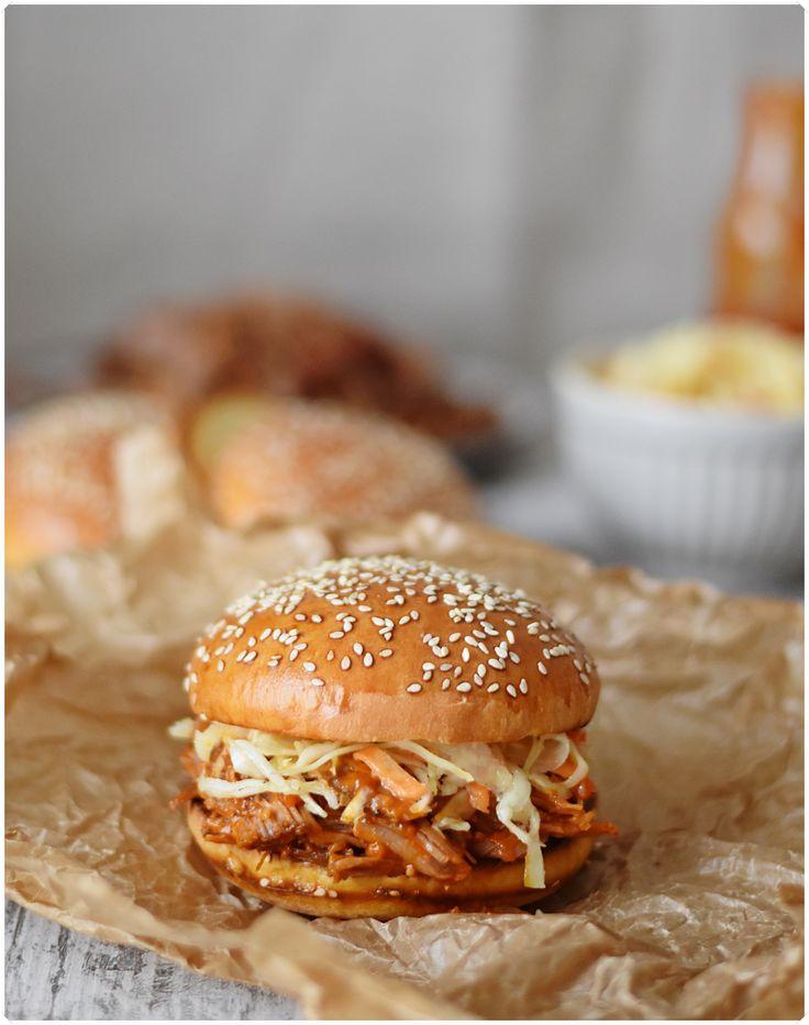 Pulled Pork Burger - so lecker!