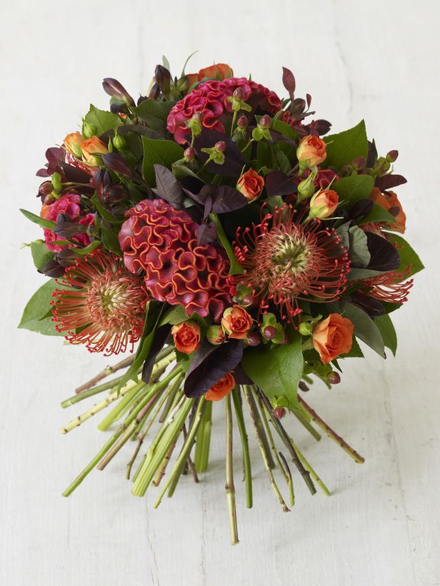 Autumn Bouquet - Creating Hand-Tied Bouquets on HGTV