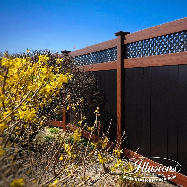 white laminate fence best 25 vinyl fence panels ideas on pinterest vinyl privacy