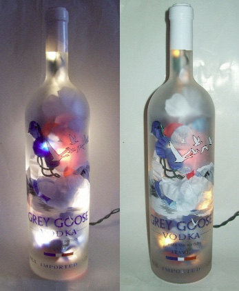 PRICE REDUCED  Grey Goose Vodka Bottle Bar or by CReationsbyTootie, $30.00