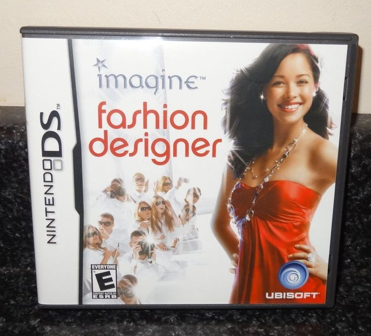 Imagine Fashion Designer Nintendo DS Game with Case & Booklet 2007 ~ SL #Nintendo