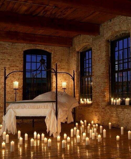 Schlafzimmer romantisch kerzen  78 besten romantic ideals Bilder auf Pinterest | Romantische ideen ...