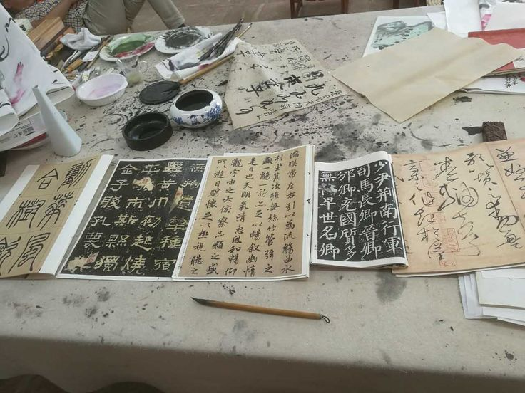 Have experiences in college that no one else will by studying abroad! Photo: Chinese Calligraphy
