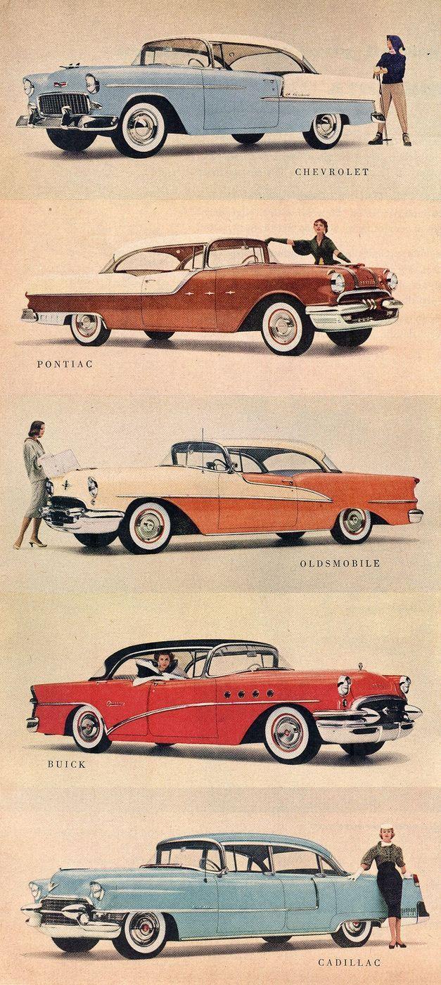 1955 General Motors Models