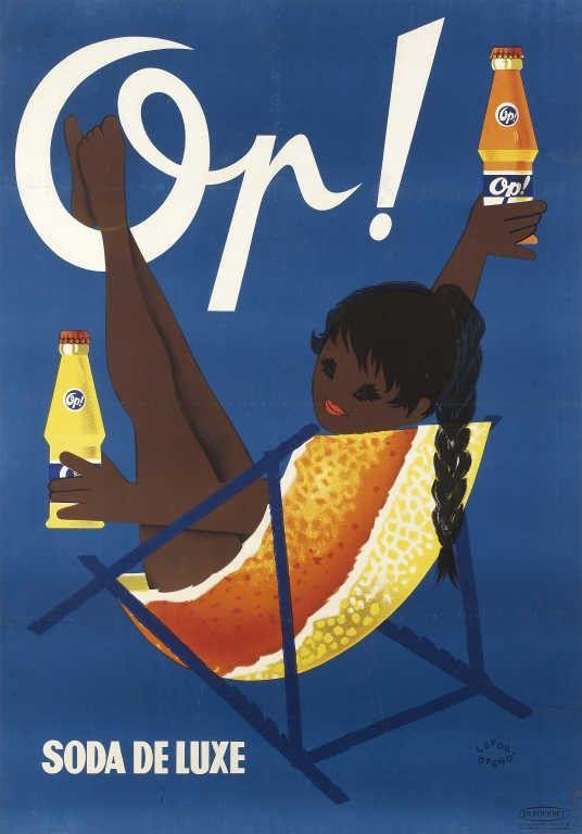 Op ! Soda de luxe - illustration de Lefor-Openo -