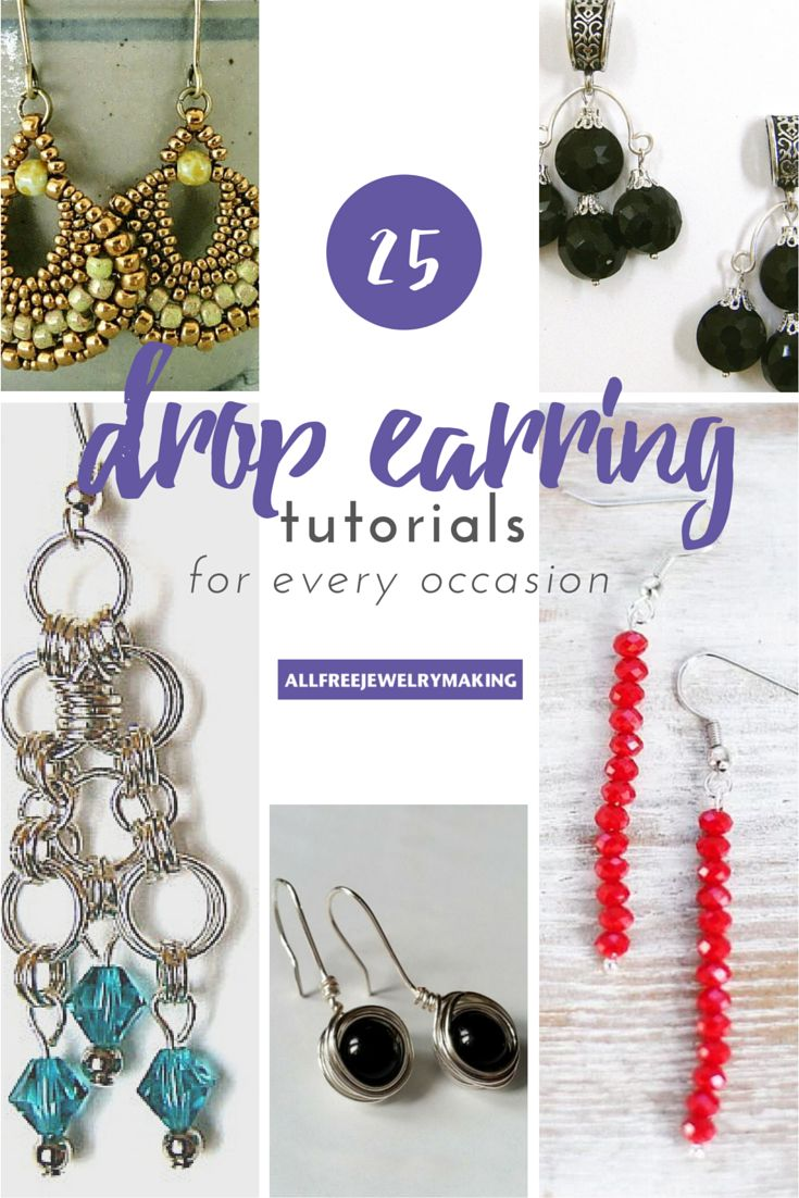 382 best how to make earrings images on pinterest | beading and