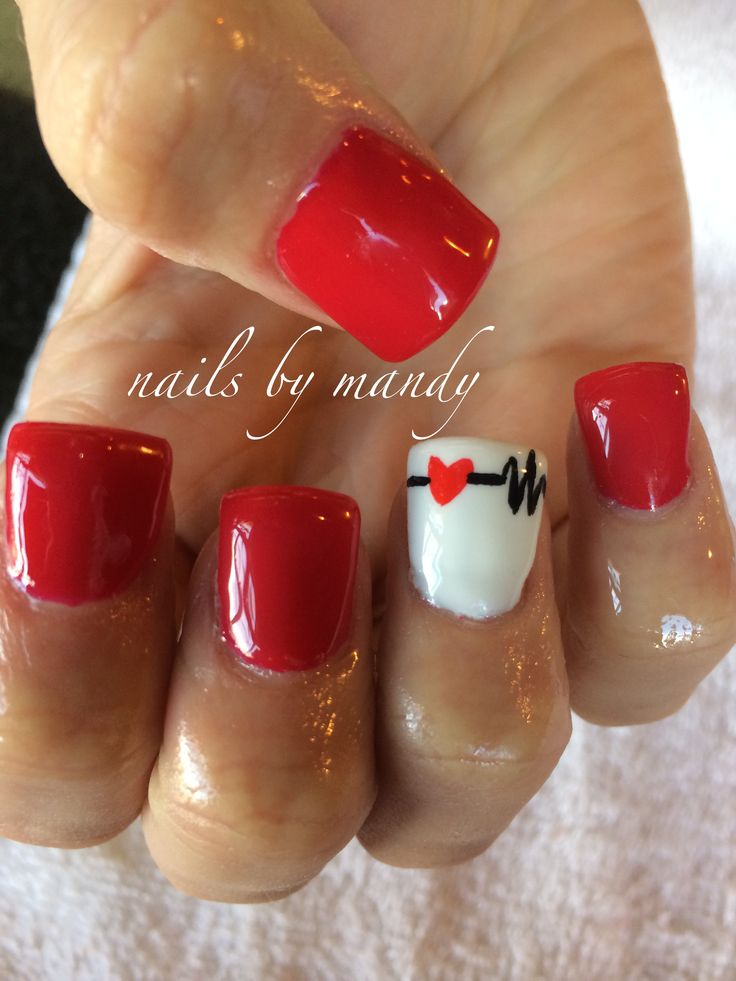 Love this. Would be cool to have my nails done like this after I graduate as  a registered nurse!