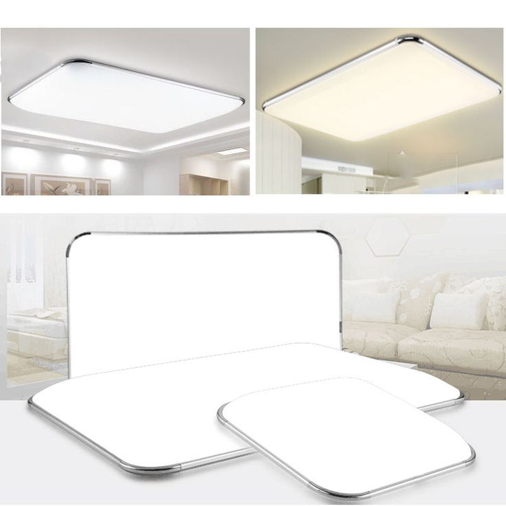 LED Deckenleuchte Badleuchte Kche Deckenlampe Dimmbar Wohnzimmer IP44 12W 96W