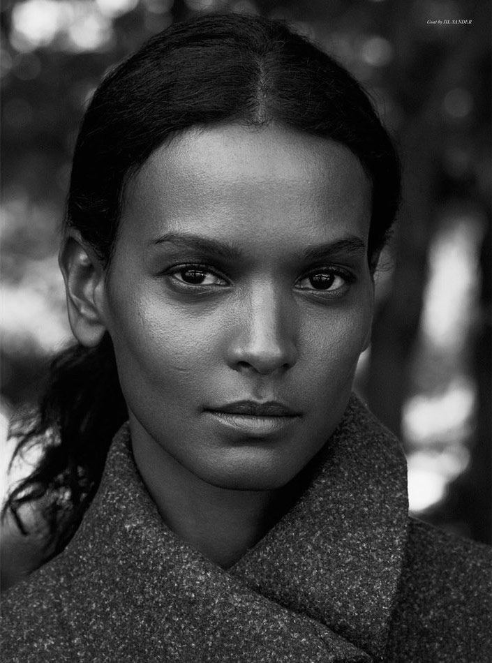 Liya Kebede by Ward Ivan Rafik for Rika F/W 2014                                                                                                                                                                                 More