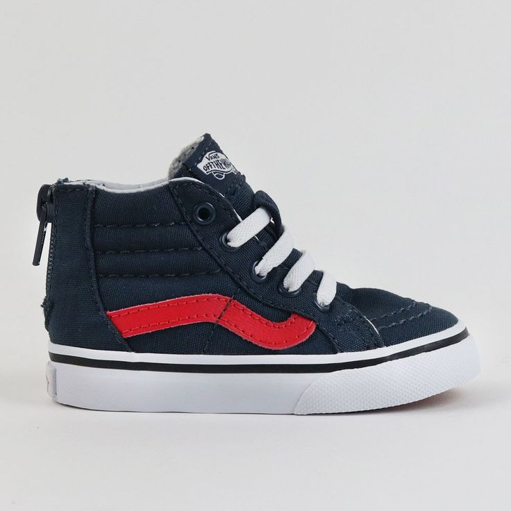 Kids Vans Sk8 High Top Black Blue Tint – Crimsonaut e0faa25b7