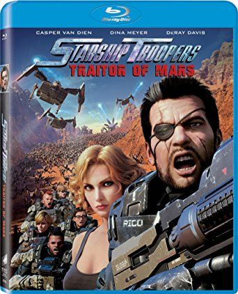 Celebrating the 20th Anniversary of the original STARSHIP TROOPERS, Sony Pictures Home Entertainment along directors Shinji Aramaki and Masaru Matsumoto bring us back to fighting bugs with STARSHIP TROOPERS: Traitor of Mars on Bluray and DVD. http://moviemaven.homestead.com/services.html