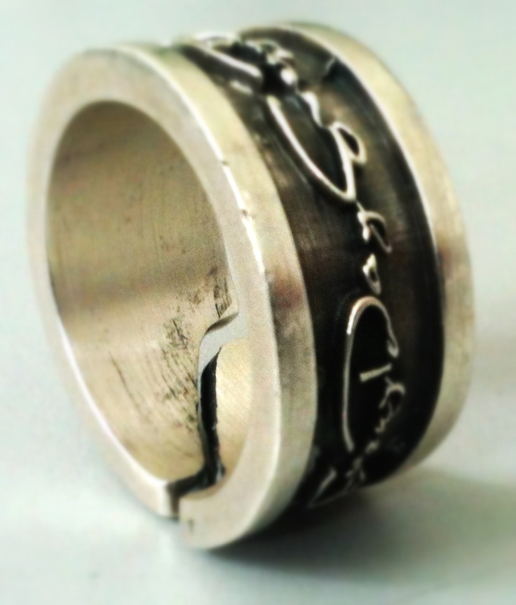 #anello #uomo #argento #silver #man #moda #fashion #fan #love #jewels $89,00