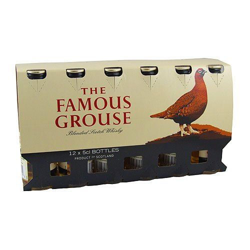 Famous Grouse Whisky Miniatures (12 PACK)