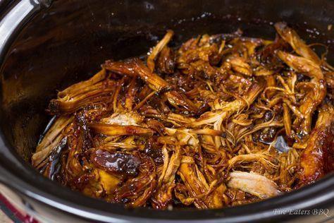 Honig-Knoblauch Schweinebraten aus dem Slow Cooker