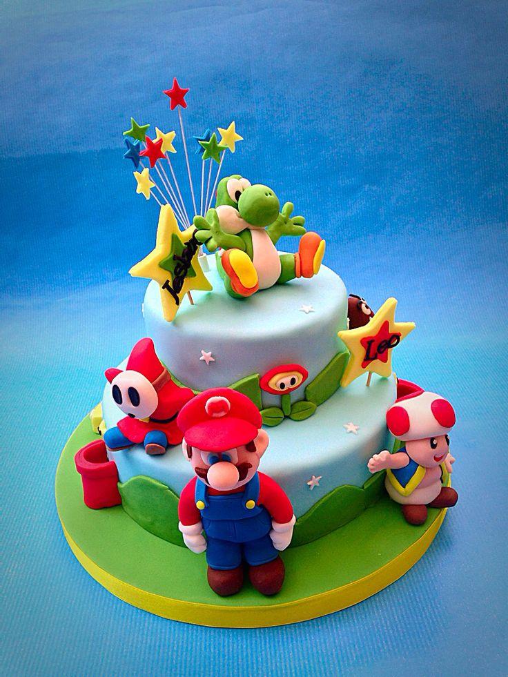 Super Mario Cake www.caronscakery.co.uk