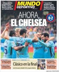 2018-02-18 Periódico El Mundo Deportivo (España). Periódicos de España. Toda la prensa de hoy. Kiosko.net