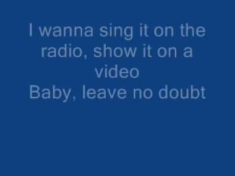 I OWN NOTHING! ALL RIGHTS GO TO RASCAL FLATTS    love you out loud by rascal flatts with lyrics