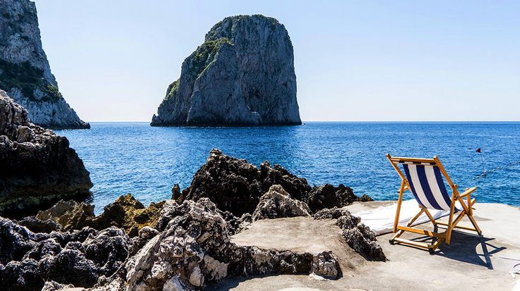 Capri, Italy: History Photo, Beaches Chairs, Ocean Beaches, Beautiful Places, Club, Beach Club, Beaches Club, Capri Italy, La Fontelina