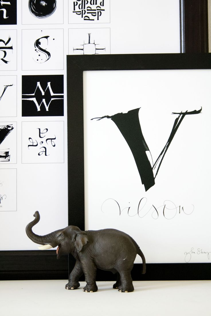 Letters A-Ö with your favorite name/word by Ylva Skarp. Photographer Madeleine How