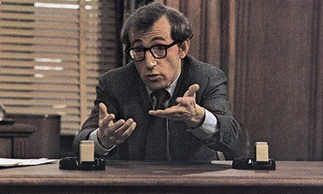 'Un-American activities' … Woody Allen plays a blacklisted screenwriter in his 1976 film The Front. Photograph: Allstar/Cinetext/Co...