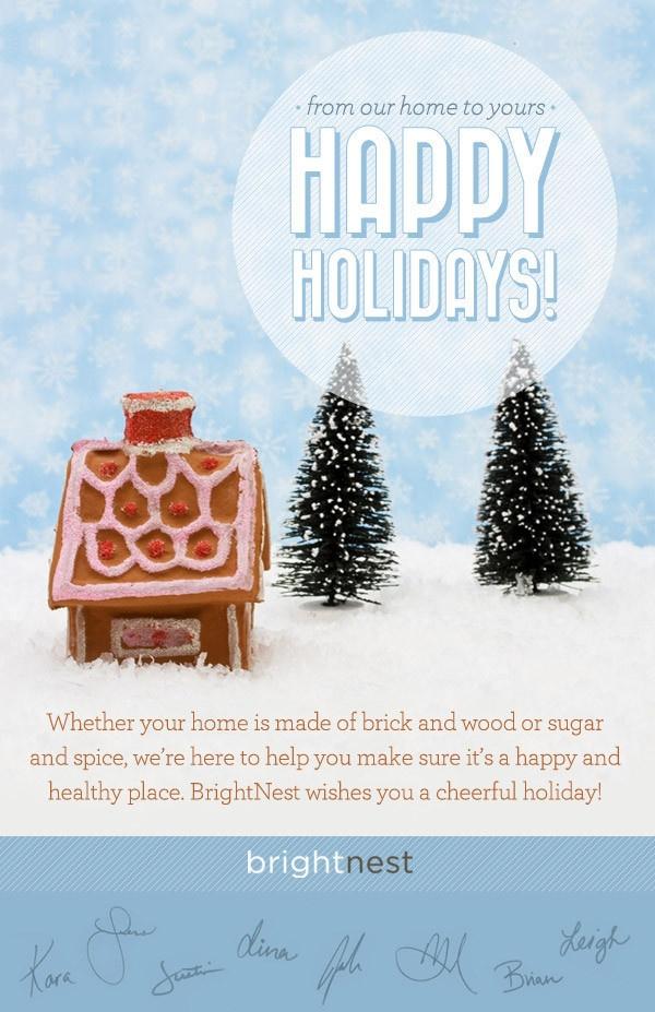 BrightNest   Happy Holidays!