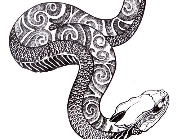 Snake Tattoo Line Drawing : Snake magical tattoo drawings tattoos pinterest