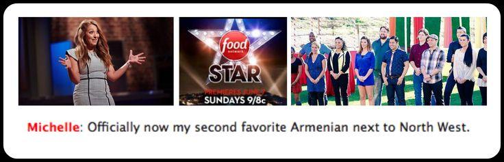 @JeffMauro description of Michelle Karam AKA The MediterraneanMama from Food Network Star Season 11